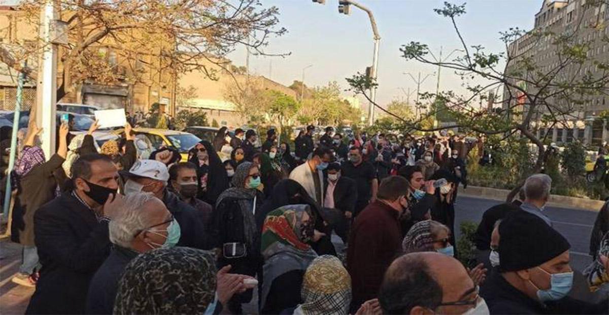 مظاهرات ايران الاحواز