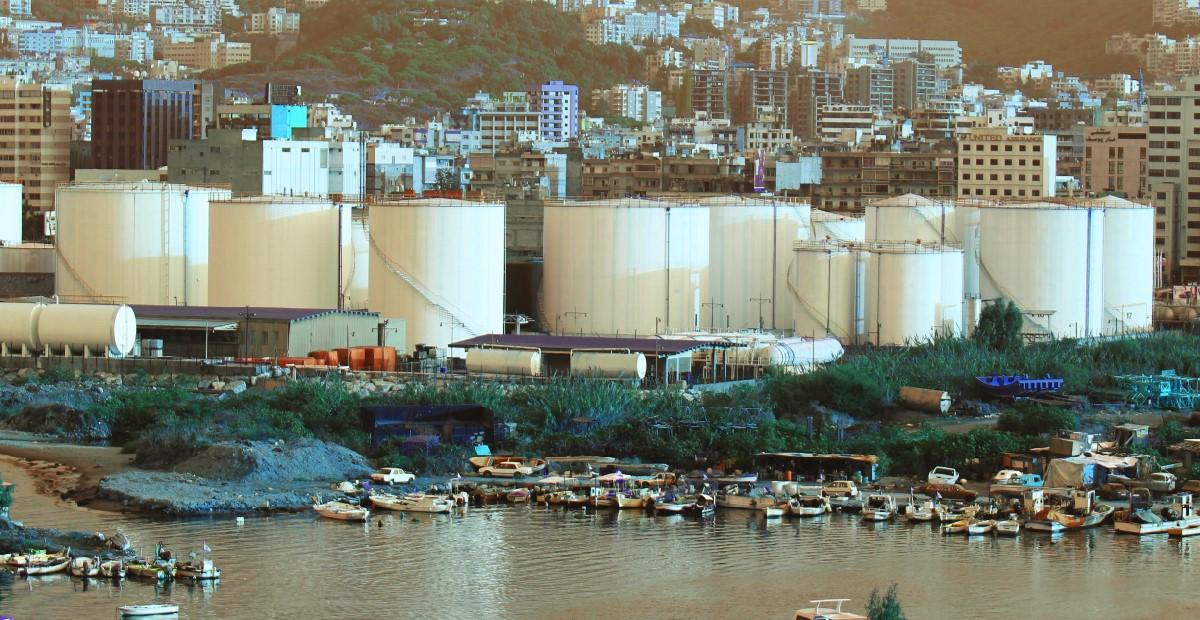 منشأت النفط اللبنانية