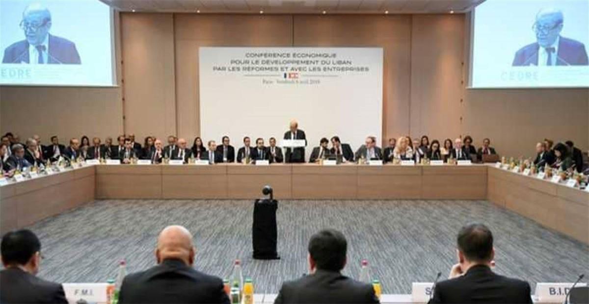 مؤتمر دعم الشعب اللبناني