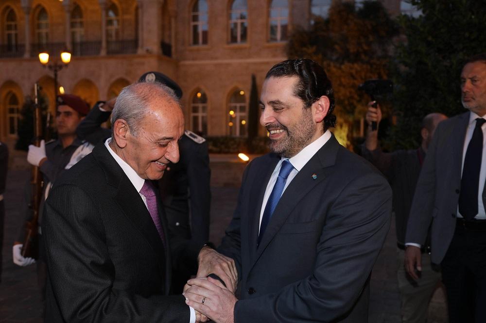 سعد الحريري و نبيه بري