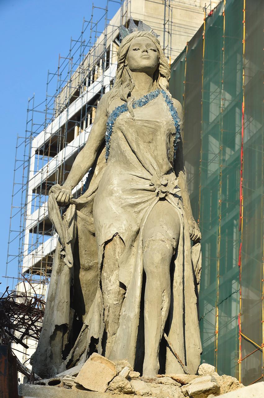 تمثال عروس بيروت