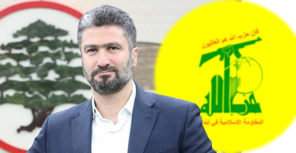 سيزار المعلوف، حزب الله، القوات اللبنانية