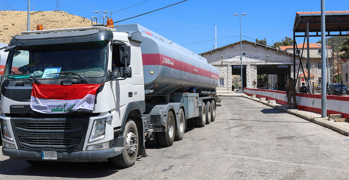 النفط العراقي الى لبنان