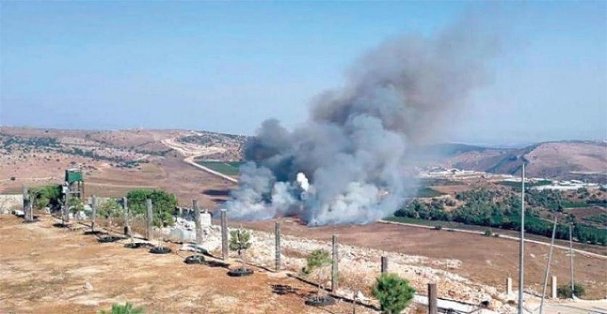 قصف حنوب لبنان