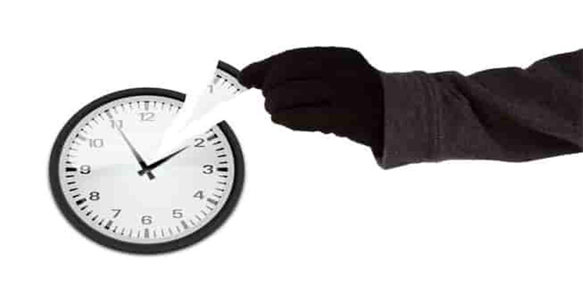 سرقة الوقت
