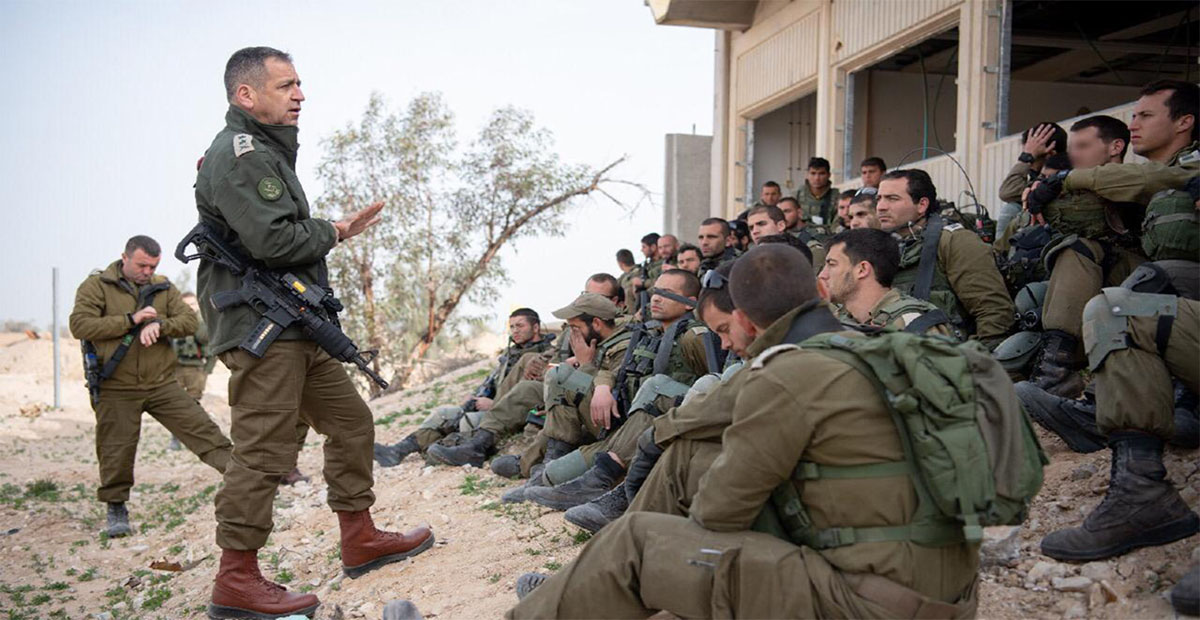 جنود العدو الاسرائيلي