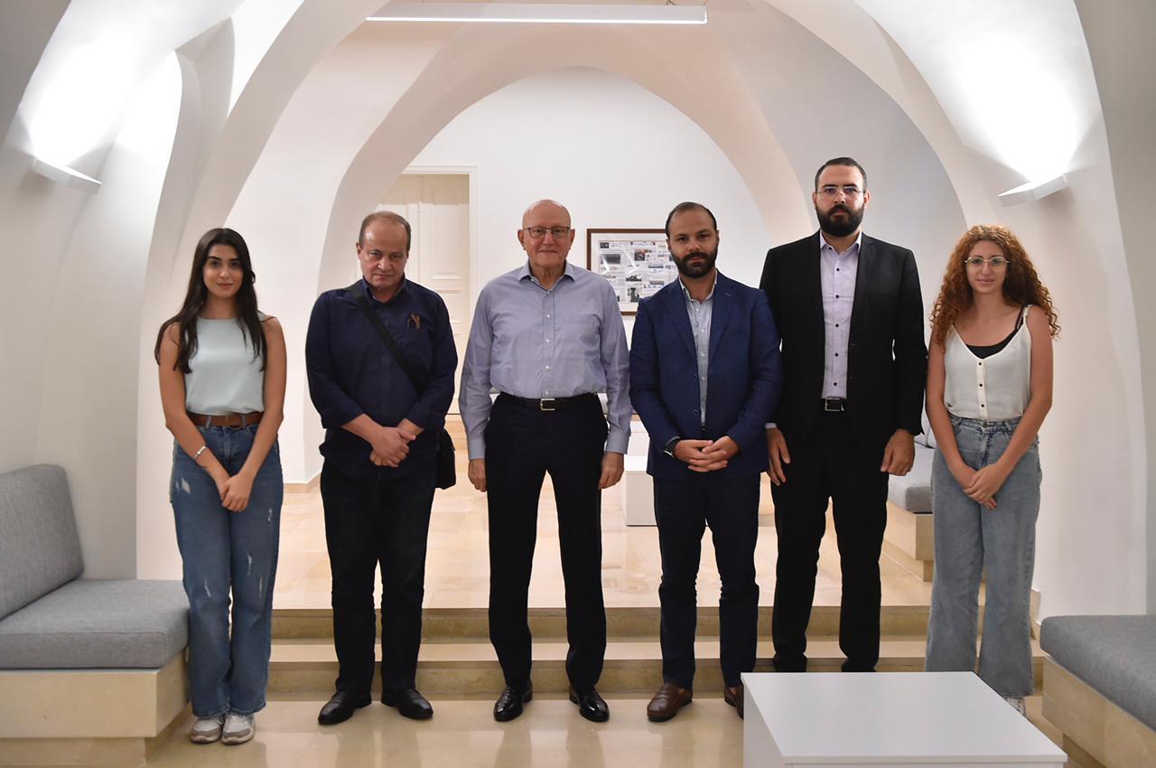 لبنان الكبير في زيارة تمام سلام