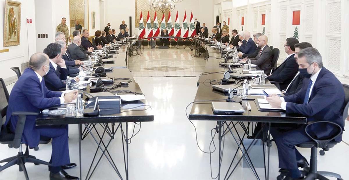 الحكومة اللبنانية (بعبدا)