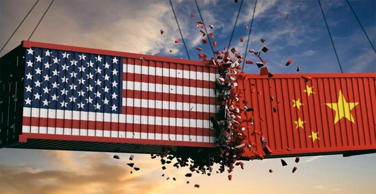التجارة بين اميركا والصين